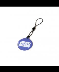 Blue NFC Plastic Hang Tag NTAG213