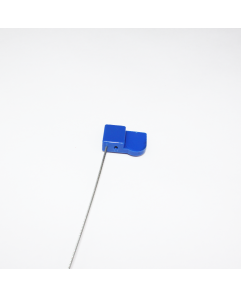 Blue asset seal NFC wire tag - NXP NTAG213