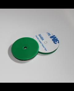ANTI-METAL 30mm Black ABS NFC Disc - NXP NTAG213
