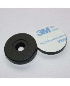 ANTI-METAL 29mm Black ABS NFC Disc - larger hole Token NTAG213