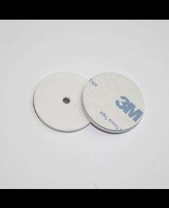 ANTI-METAL 30mm White ABS NFC Disc Token NTAG213