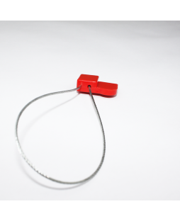 Red asset seal wire tag - NXP NTAG213