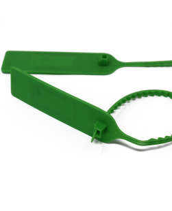 NFC Green ABS cable tie - larger teath