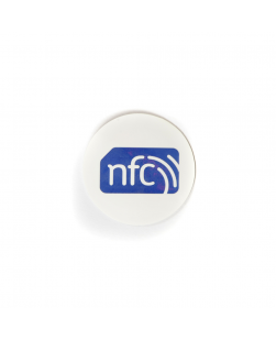 30mm NFC Sticker White  - NXP NTAG213
