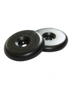 34mm Black PA^ plastic discs - NXP NTAG213