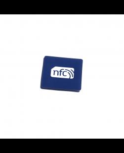 38mmx38mm Square  NFC Sticker Blue PVC  - NXP NTAG213