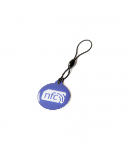 Blue NFC Plastic Hang Tag NTAG213