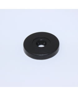 29mm Black ABS disc token NXP NTAG213