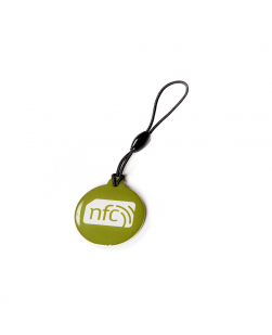 Green NFC Plastic Hang Tag NTAG213