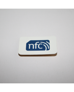 NFC sticker 40mm x 25mm ANTI-METAL - NXP NTAG213
