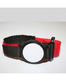 NFC Red Velcro Wristband NTAG213