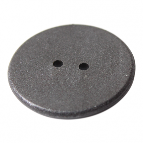 24mm NFC Button Laundry Tag with two holes NXP NTAG213